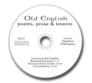 CD2 for Old English Poems, Prose & Lessons