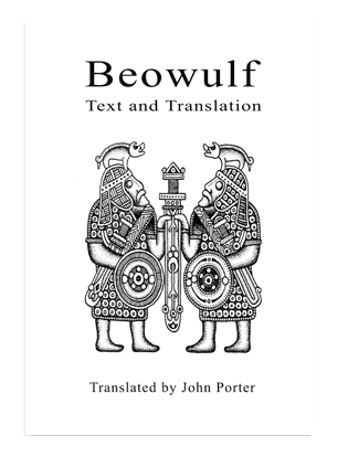 Book cover for Beowulf. Text and Translation