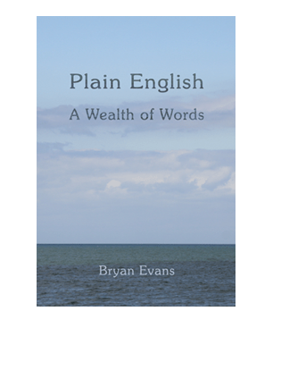 Book Cover for Plain English. A Wealth of Words