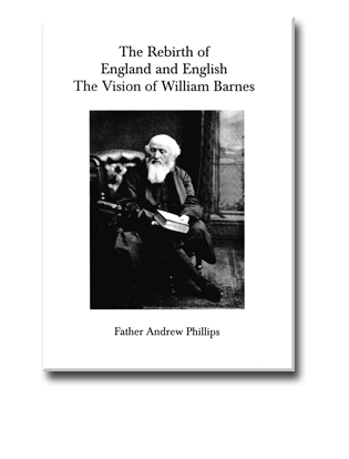 Book Cover for The Rebirth of England and English. The Vision of William Barnes